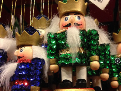 Blinging Nutcracker Ornaments